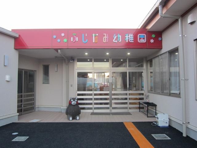 幼稚園の玄関です(^^)