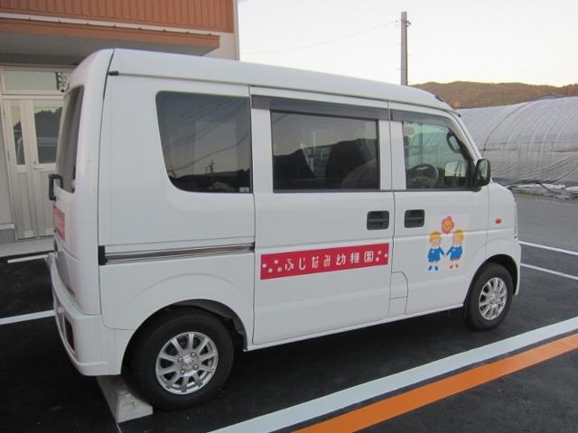 幼稚園の車です(^^)