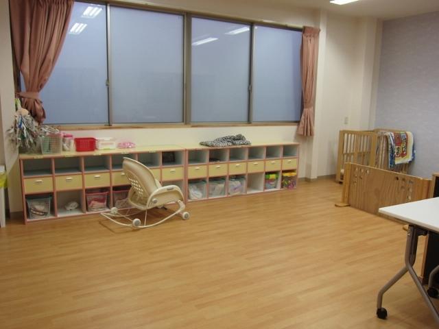 ぴよぴよ組さん(0歳児・1歳児)のお部屋です。